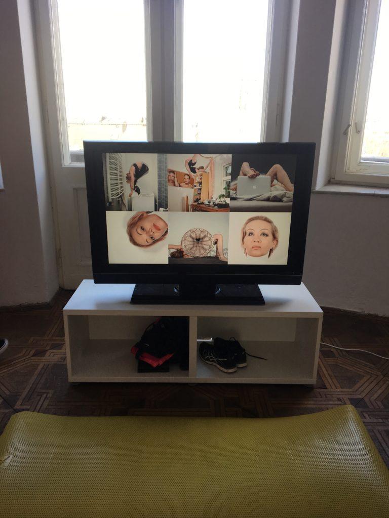 Wystawa Na pozór silna dziewczyna a wśrodku ledwo się trzyma Agata Zbylut, fot. moja