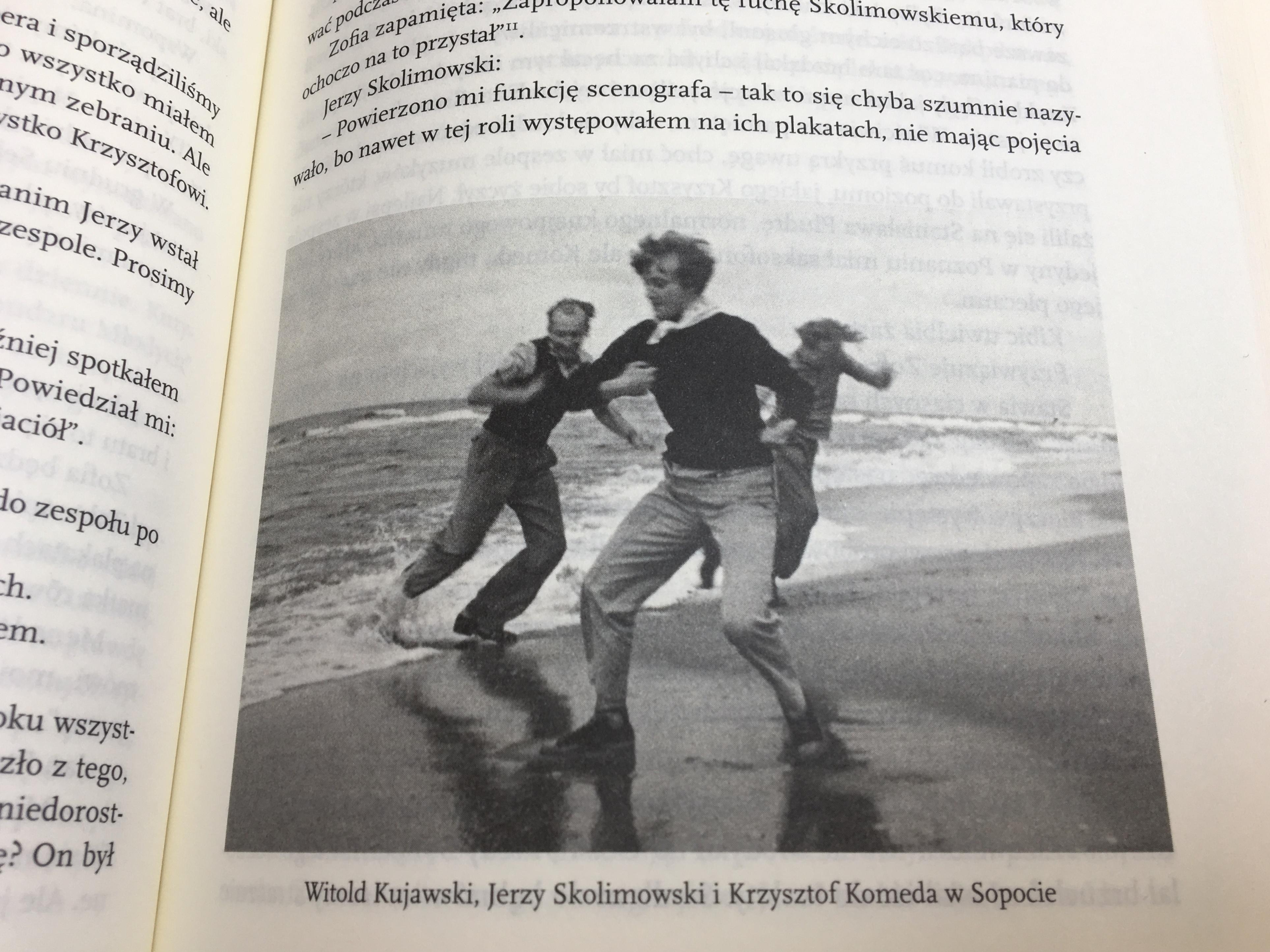 Komeda. Zdjęcie z książki M. Grzebałkowskiej