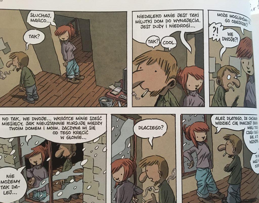 """Codzienna walka"" - komiks"